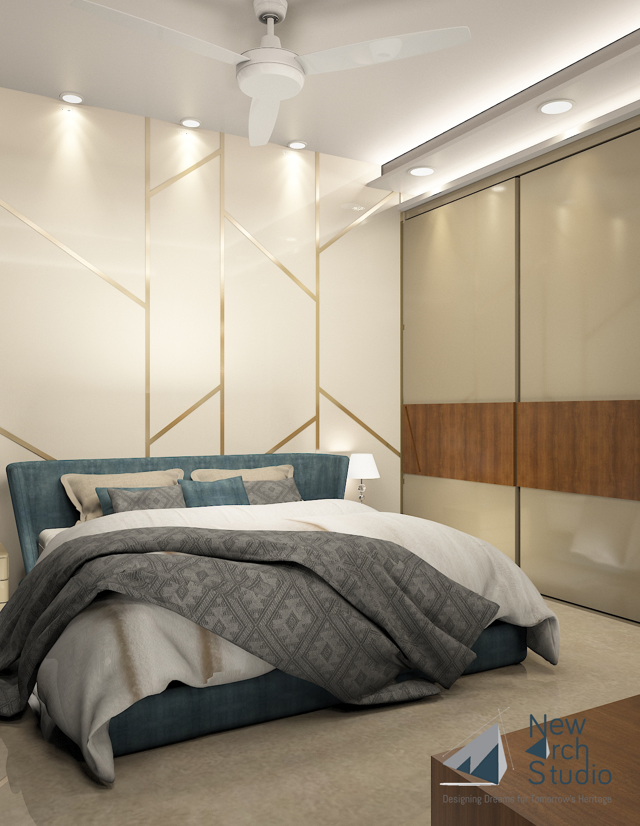 Patel Nagar Residential Interior Design Project Done By New Arch Studio