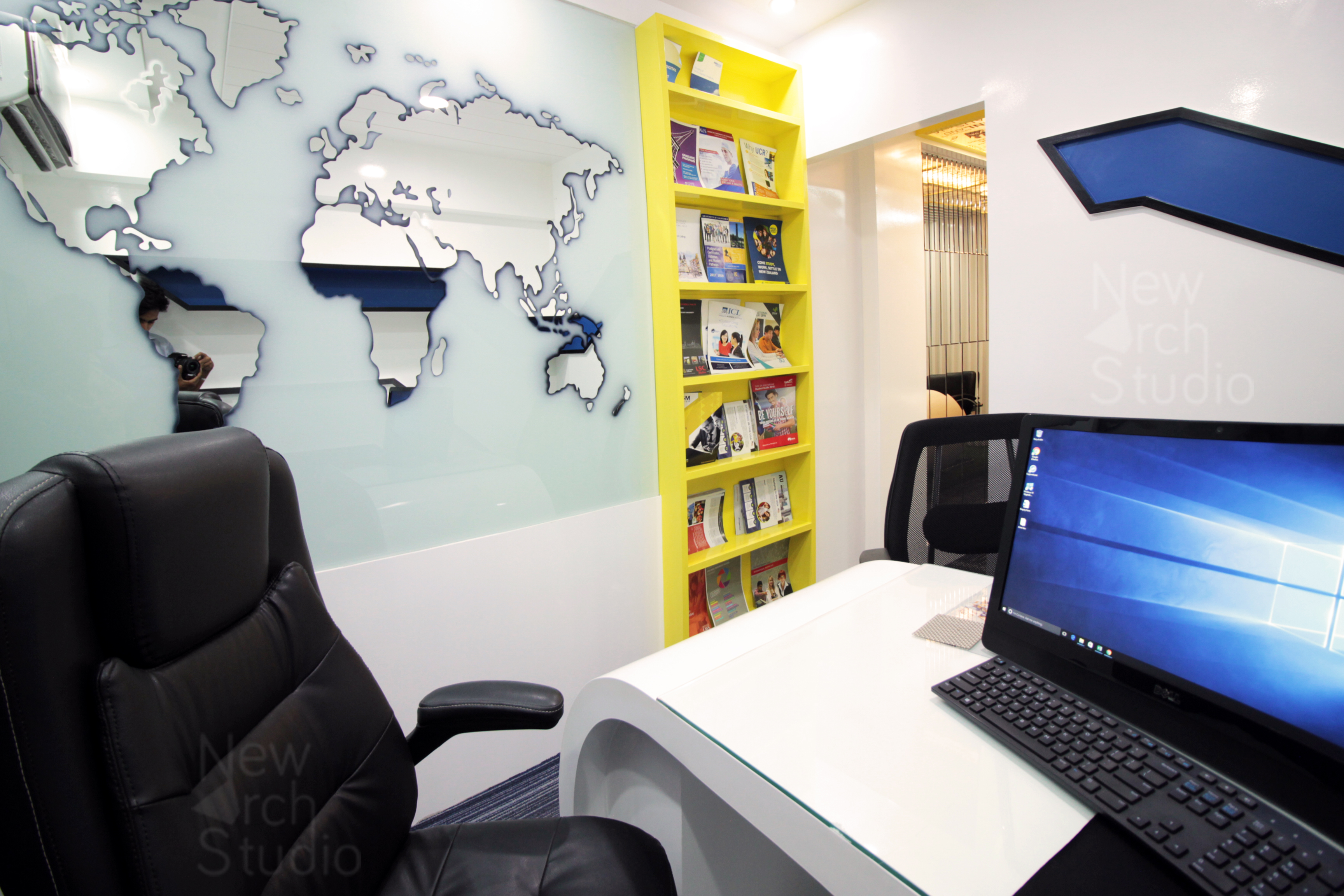 RDC Educational Consultant Office Interior Design  Done By New Arch Studio