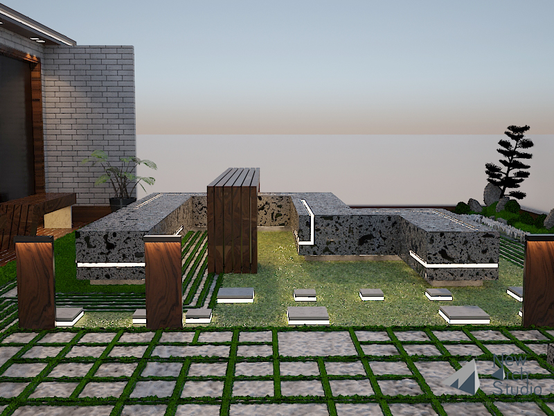Mr. Ashok Agarwal Residence Design Done By New Arch Studio